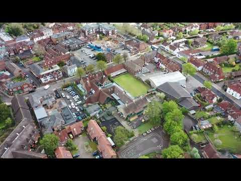 Aerial Footage - Petersfield Infant School